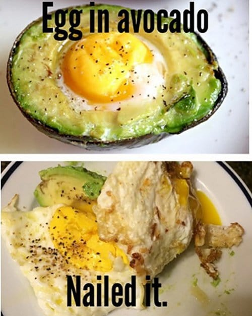 Egg In Avacado
