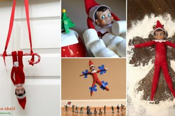 Elf On The Shelf Gets Up To