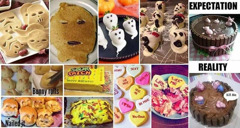 12 Hilarious Expectation Vs Reality Cooking Fails