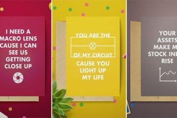 Geeky Valentine's Day Cards Nerds