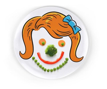 Girl Hairstyle Plates childrens