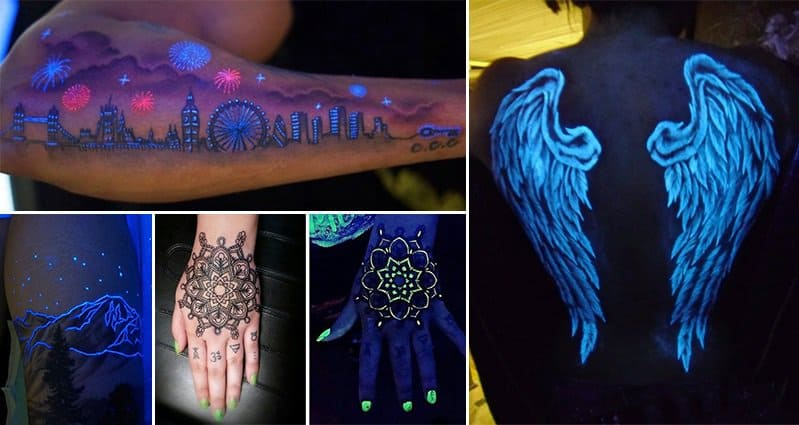 15 Of The Most Epic Glow In The Dark Tattoos