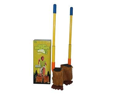 Hairy Bigfoot Stilts box