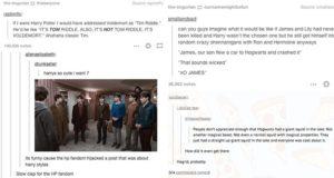 'Harry Potter' Fans Hilarious Tumblr