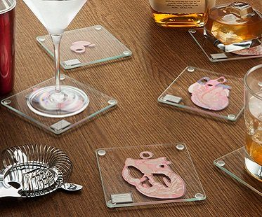 Heart Specimen Coasters