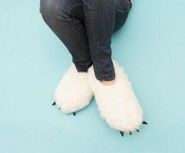 Heated Yeti Slippers