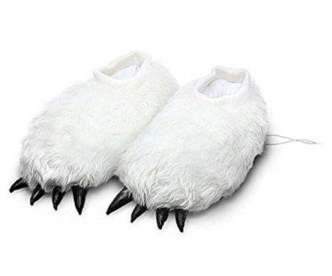 Heated Yeti Slippers usb