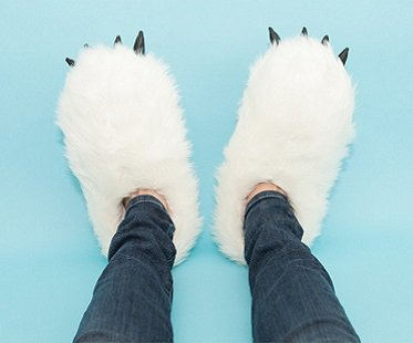 Heated Yeti Slippers warmers