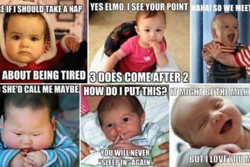 Hilarious Baby Memes