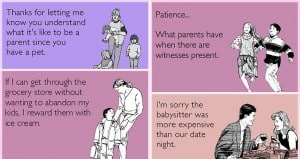 Hilarious Cynical E-Card About Parenting