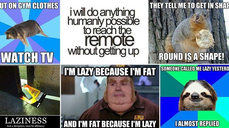 Hilarious Lazy Memes