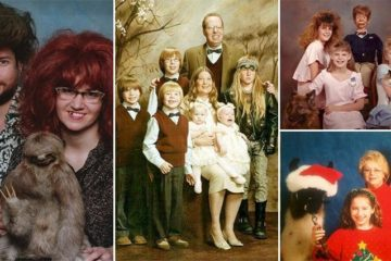 Hilariously Awkward Family Photos