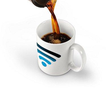 Hotspot Heat Changing Mug wifi
