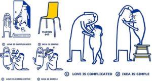 IKEA Love Less Complicated
