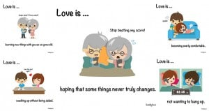 Illustration Love Is In The Little Things