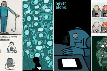Illustrations Addiction To Technology Taking Over