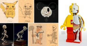 Imaginary Skeletons Cartoon Characters