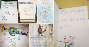 Inappropriate Kids' Drawings