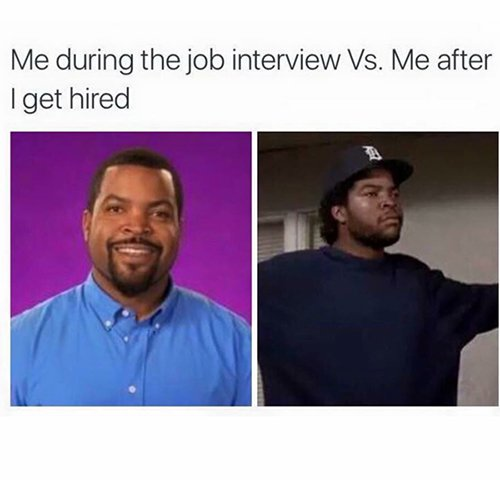 Interview Vs Hired