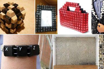 Inventive Ways Use Old Computer Keyboard