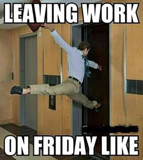 Leaving Work