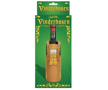 Lederhosen Wine Bottle Cover box