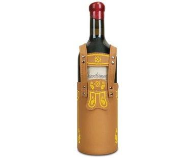 Lederhosen Wine Bottle Cover german pants
