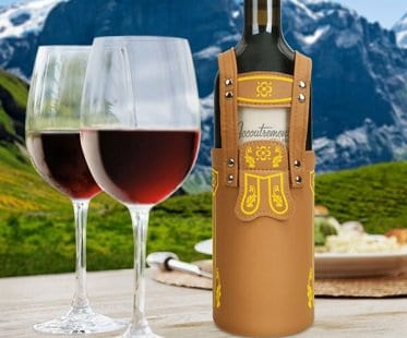 Lederhosen Wine Bottle Cover