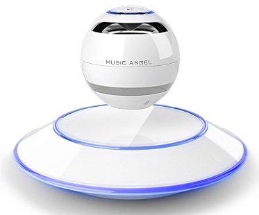 Levitating Bluetooth Speakers white