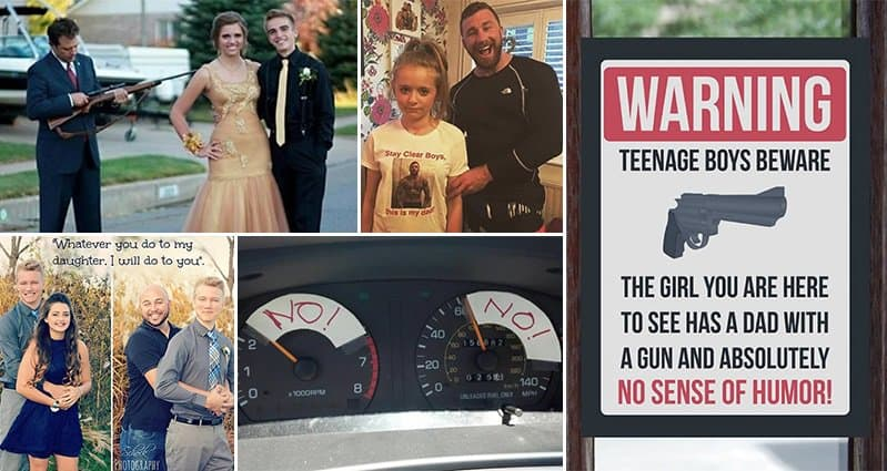9 Hilarious Photos Of The Most Overprotective Dads Ever