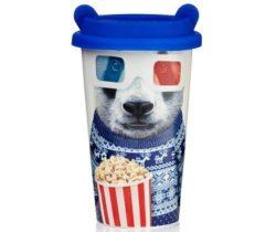 Movies Panda Travel Mug