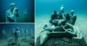 Museo Atlantico's Sculptures Ocean Floor