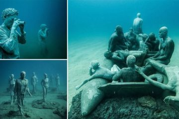 Museo Atlantico's Sculptures Ocean Floor