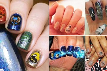 Nail Designs 'Harry Potter'