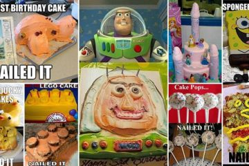 Nailed It Cake And Dessert Fails