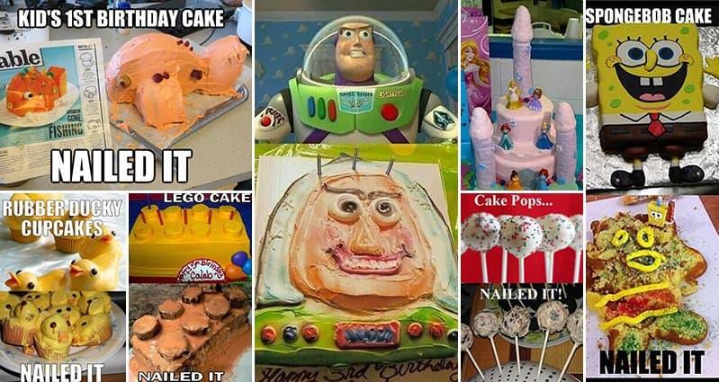 Hedgehog Cake Fail Nailed It