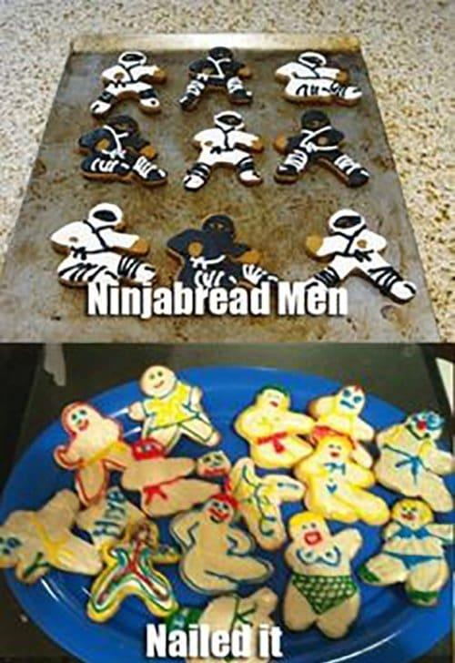 Ninjabread Men