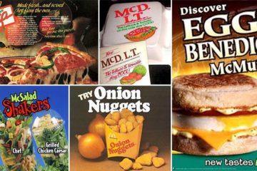 Old School 'McDonald's' Items
