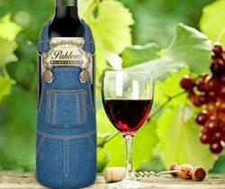 Overalls Wine Bottle Cover