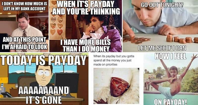 12 Hilariously Accurate Payday Images We Can All Identify With