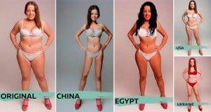 Photoshopped Beautiful Different Countries