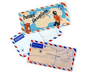 Postcard Aeroplane airmail