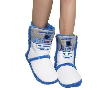 R2-D2 Boot Slippers