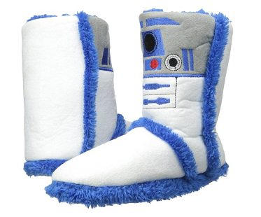R2-D2 Boot Slippers star wars