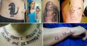Ridiculously Bad Tattoos That These People Will Regret Forever