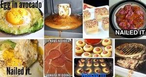 Sad Food Disasters