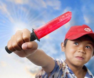 Samurai Sword Popsicle Molds