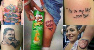 Shocking Tattoo Fails