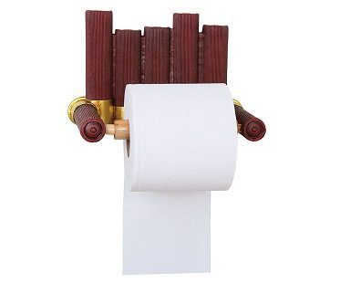 Shotgun Shell Toilet Paper Holder