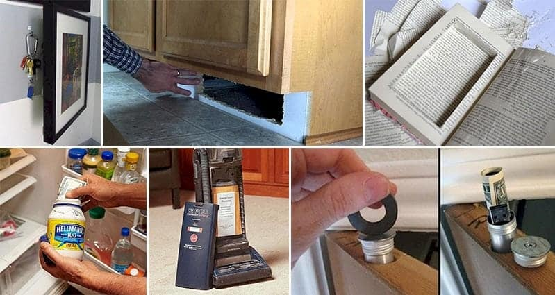 Smart Hiding Places Valuables